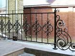 Изготовление решеток, ворот, калиток, оградок - фото 3