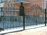 Изготовление решеток, ворот, калиток, оградок - фото 5