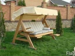 Изготовление садовой мебели