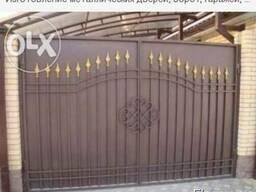 Изготовление металлических дверей и ворот, емкости, контейне