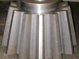 Изготовление шестерен, валов для жомосушильных аппаратов
