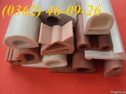 Изготовление теплостойких уплотнителей, шнуров и профилей