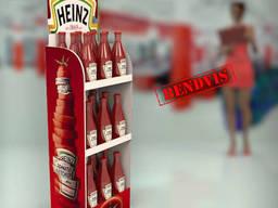 Изготовление торгового оборудования Heinz