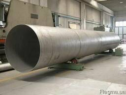 Трубы стальные (обечайки): 630-2420 мм