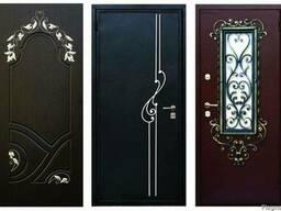 Изготовление Входных Дверей с Ковкой/Окошком