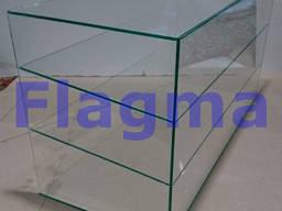 Изготовление настольных витрин со стекла металла по размерам