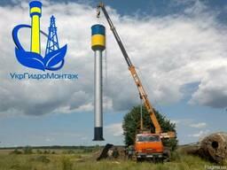 Изготовление водонапорных башен ВБР 15, 25 м3