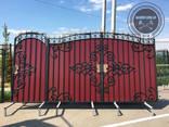 Двери, решетки, навесы, козырьки, ворота, калитки - фото 8