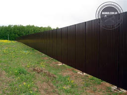 Ворота, калитки, забор из профнастила