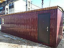 Изготовления строительных бытовок 6х2, 5м