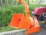 Измельчитель веток Cyklon, щепорез для трактора (до 130 мм) - фото 2