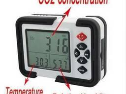 Измерение уровня СО2 в помещении.