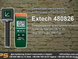 Измеритель напряженности ЭМП, 30-300Гц Extech 480826