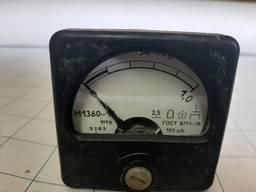Микроамперметр М1360-19, М1360