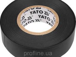 Изолента ПВХ 15х20 мм черная YATO YT-8159