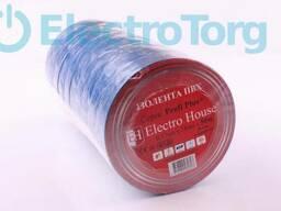 Изолента ПВХ 50 метров синяя ElectroHouse
