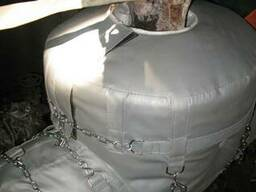 Термочохли для трубопроводів та арматури