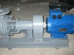 Насос К 80-65-160 двигателем 7. 5 квт