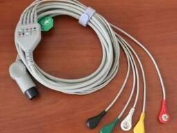 Кабель ЭКГ для монитора ЮМ 300
