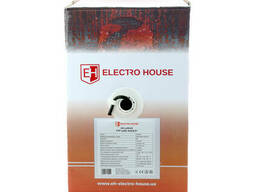 ElectroHouse Кабель вита пара FTP 4х2х0,51 CCA (зовніш. Монтаж, зі сталевим дротом) ПЕ. ..
