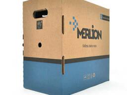 Кабель Merlion КПВ-ВП 4*2*0, 50 (UTP-cat. 5E), CU, оболочка ПВХ, для внутр. работ, 305м.