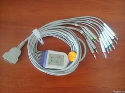 Кабель отведений для ЭКГ MAC-1200/500 (10 проводов)