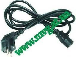 Кабель питания силовой (шнур сетевой) для БП и монитора
