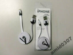 Кабель USB IPhone 5 G (IOS7. 1. 0) плоский