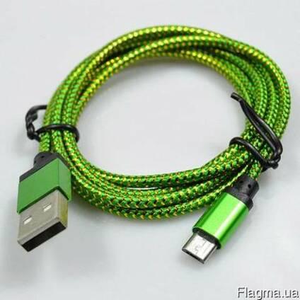 Кабель USB - micro USB для смартфонов, планшетов и телефонов