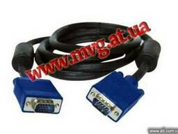 Кабель VGA-VGA 10м (1.5м,1.8м,3.0м,5м,10м,15м,20м,30м)Харько
