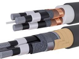 Кабели с изоляцией с продольной и поперечной герметизацией, в том числе бронированные