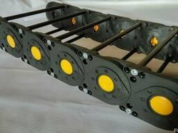 Кабельканал-кабелеукладчик, рабочие размеры 120х25