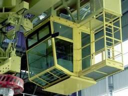 Кабина крана для металлургической промышленности