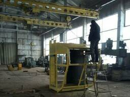 Кабины кранов - изготовление, ремонт, монтаж