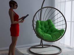 Качели подвесные круглые  Мария, кресло шар (кокон) для. ..