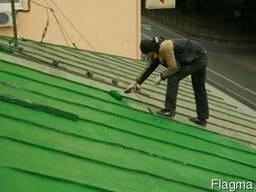 Качественная покраска металлических крыш