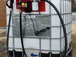 Заправ. модуль с точным счетчиком на еврокуб для диз топлива
