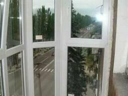 Металлопластиковые балконы, окна, двери! Новые окна, двери.
