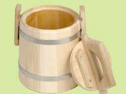 Кадка для меда, липовая от 0,5-80л.