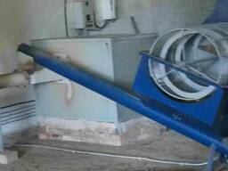 Калибратор (просеиватель) подача сырья в сушку с частотником