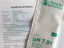 Калибровочный раствор HI70007 7,01 pH Hanna 20мл, Германия