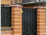 Калитки кованые, сварные, решетчатые - фото 3