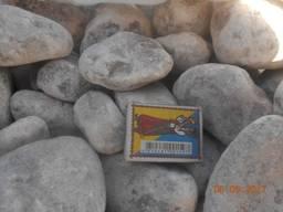 Камень Ангидрит галька (молодой мрамор) 30-70 мм