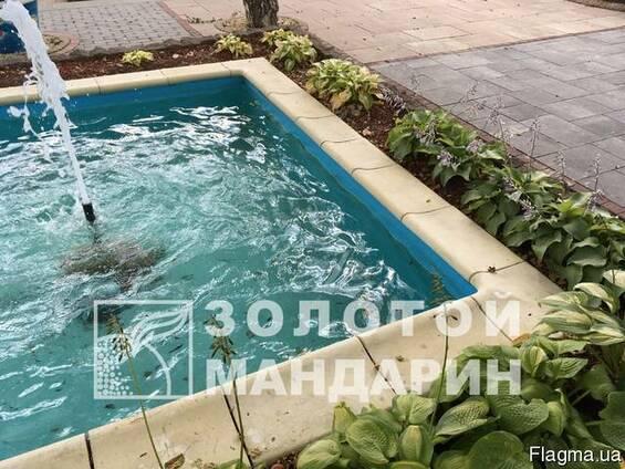 Копинговый камень для басейна