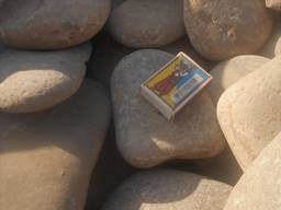 Камень. Галька плоская речная (ладонь)