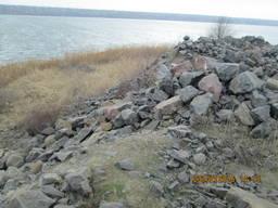Камень гранитный (бут)