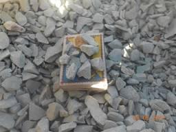 Камень. Крошка цеолитовая зеленая 5-10 мм, 5-30 мм