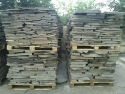 Камень песчаник для облицовки стен, заборов, фундаментов.