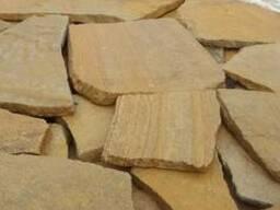 Камень-песчаник природный
