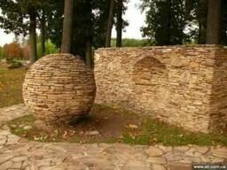 Камень «Песчаник» природный-пластушка